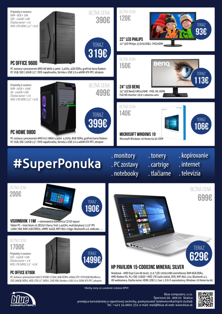 Akciová ponuka #superponuka